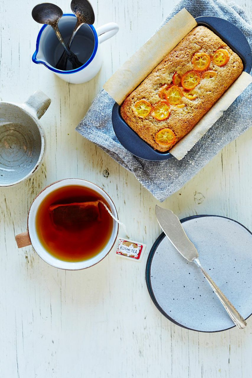 Cardamom Kumquat Mini Loaf