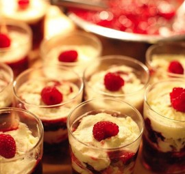 Grand Raspberry Trifle