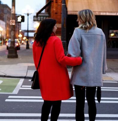 Cassandra LaValle and Erin Heimstra | Besties