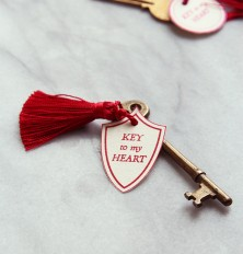 Key to My Heart DIY Valentine