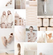 monochromatic nude board