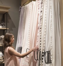 Restoration Hardware Houston Design Gallery - Curtains