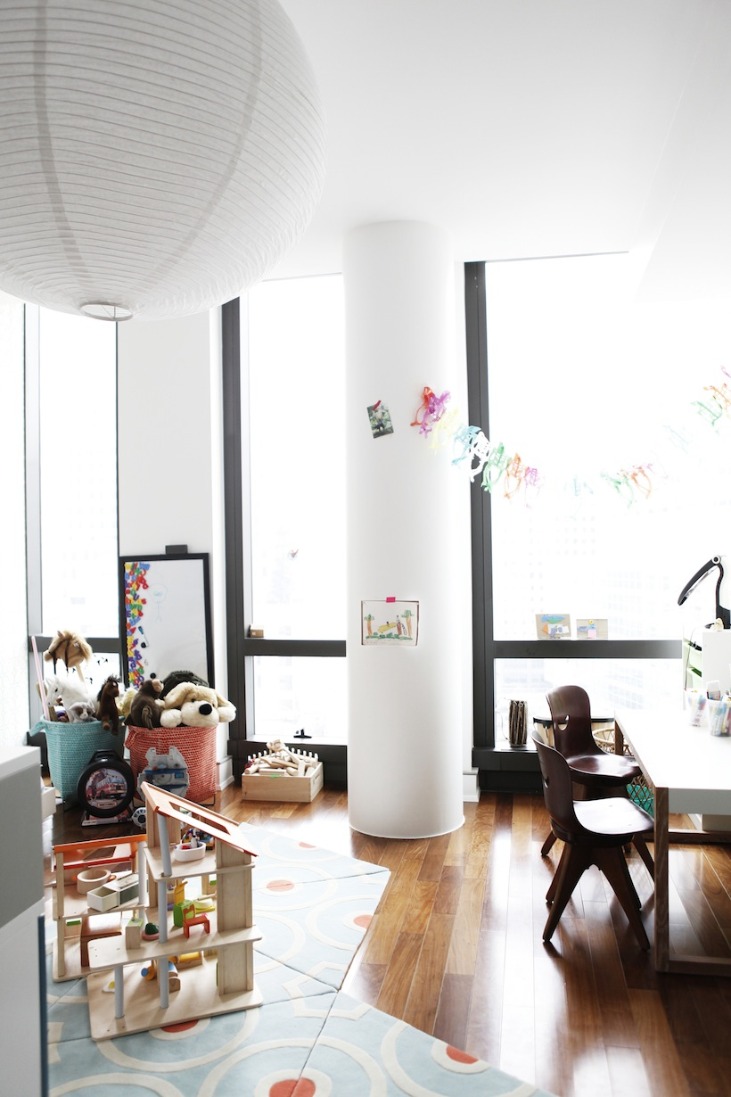 Lora\'s Kid-Friendly NYC Apartment - Camille Styles