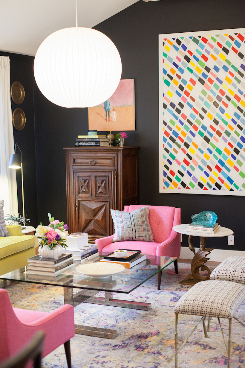 colorful and bold interiors