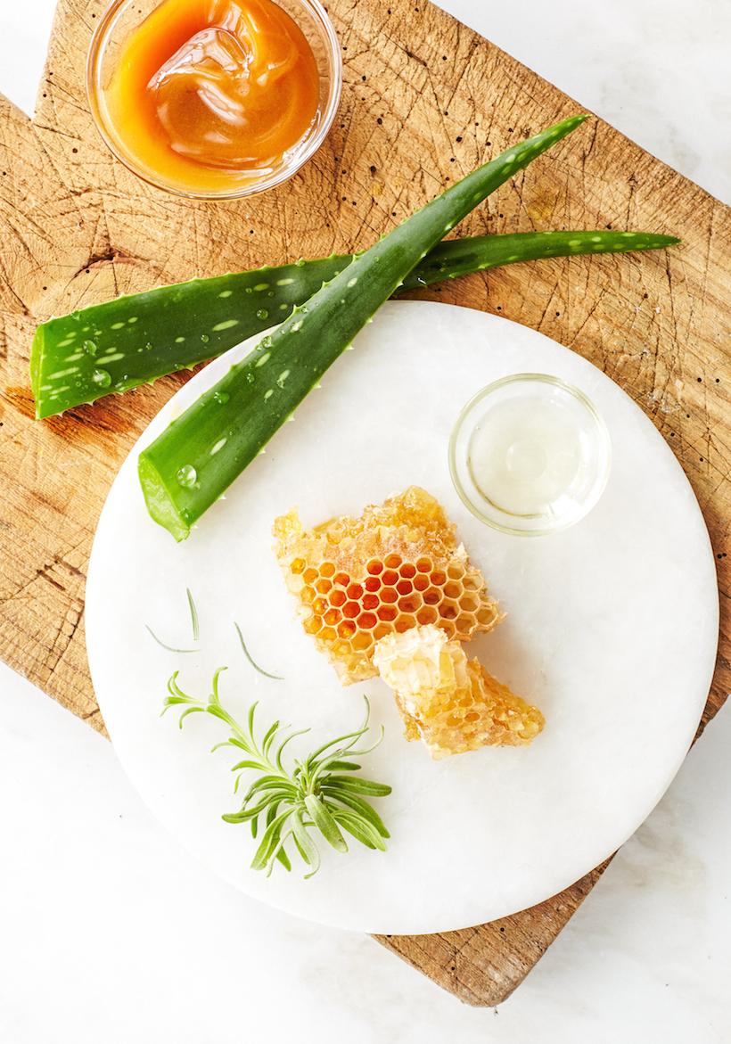 Recipe for homemade Calming Aloe Cleanser