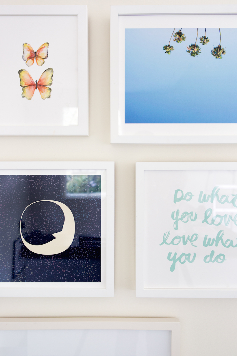 How to Design a Kids\' Gallery Wall (& an art giveaway!) - Camille Styles
