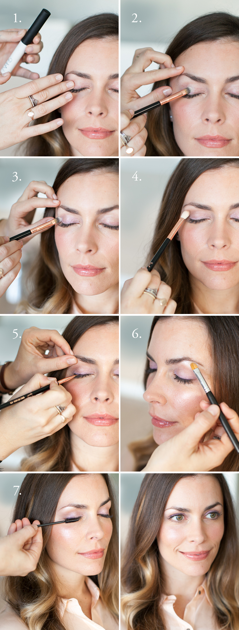 The Lavender Eye - Makeup Tutorial
