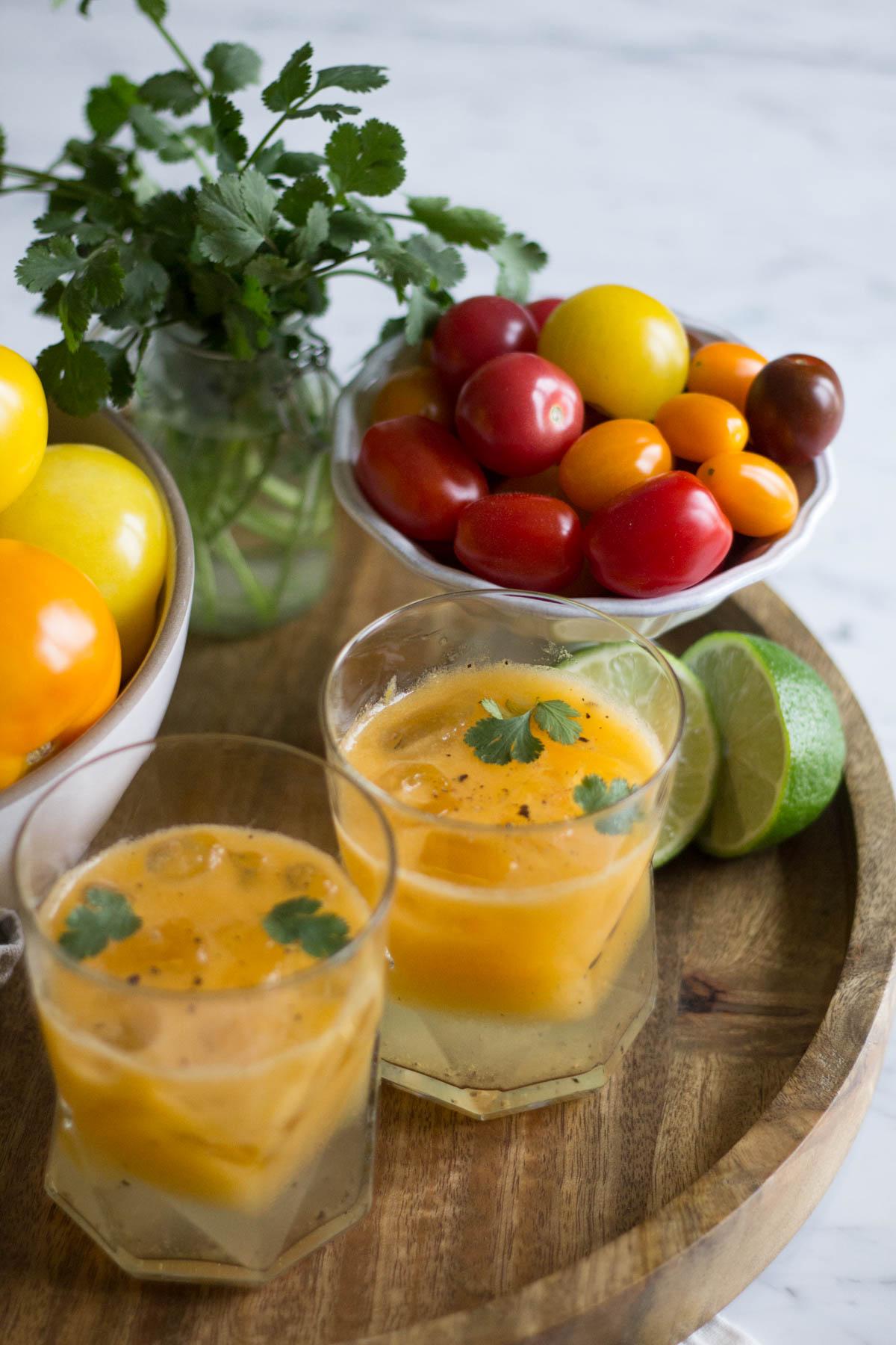Heirloom Tomato Bloody Mary Mix Recipes — Dishmaps