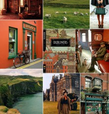 Ireland-inspired Mood Board