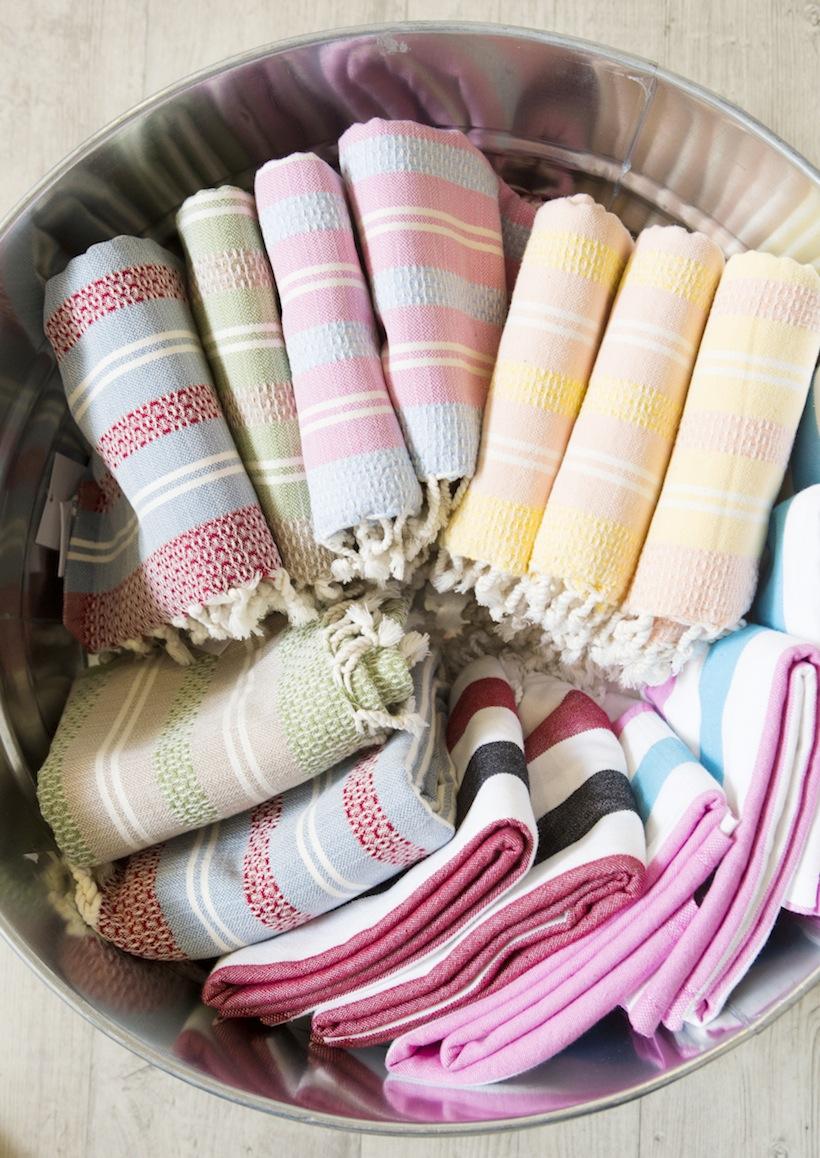 Loomed NOLA Turkish towels