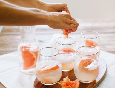 The Grapefruit Greyhound Cocktail