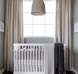 crib // modern baby boy's nursery // camille styles