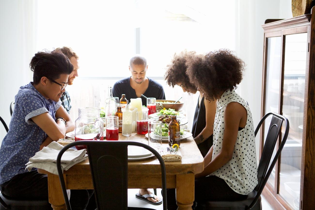 dinner party prayer: Entertaining w/ Nikisha