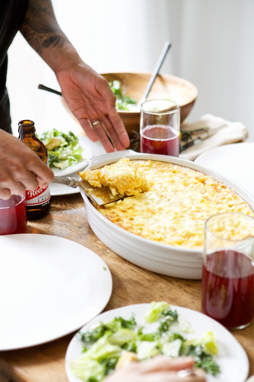 homemade mac and cheese: Entertaining w/ Nikisha