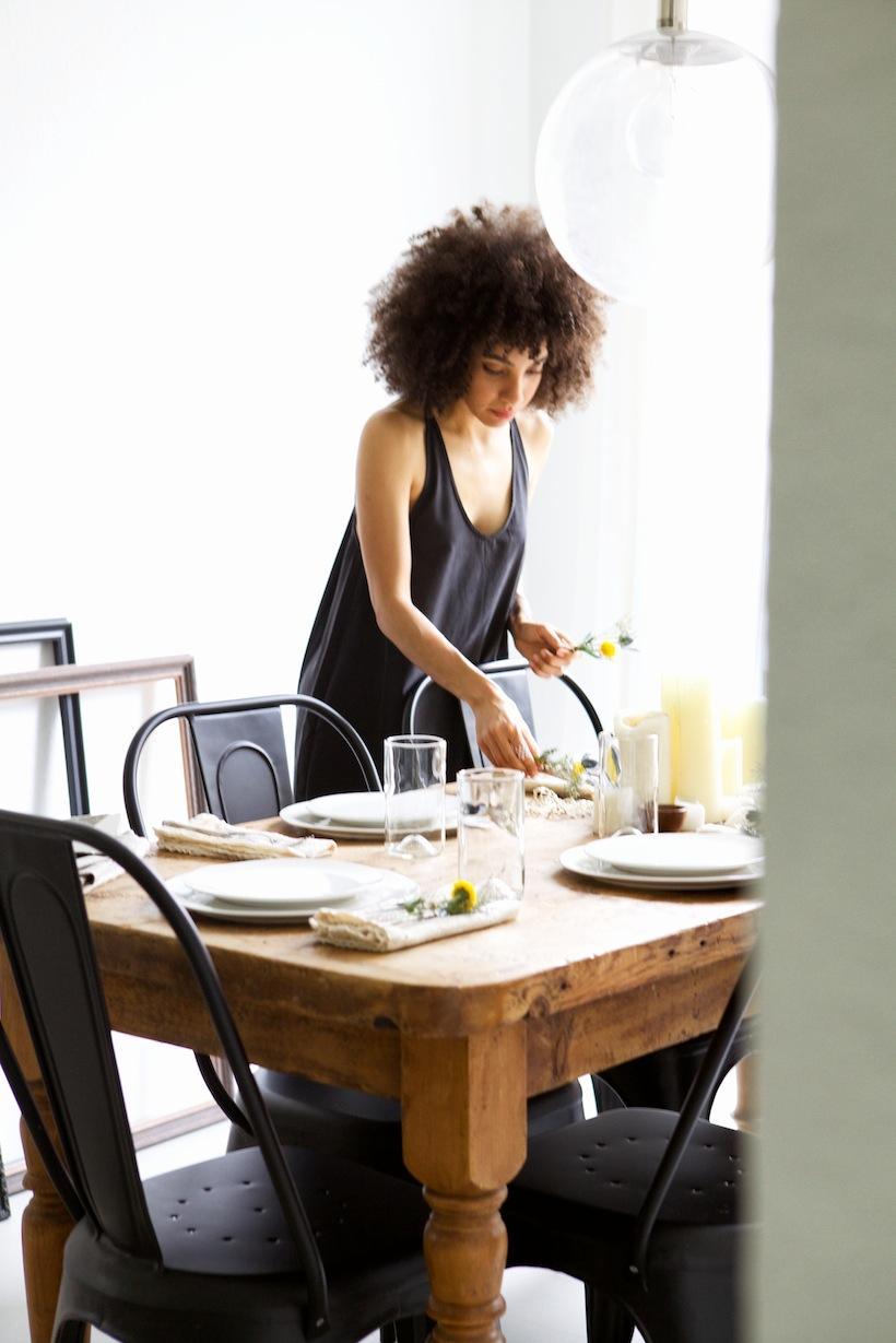 setting the table: Entertaining w/ Nikisha