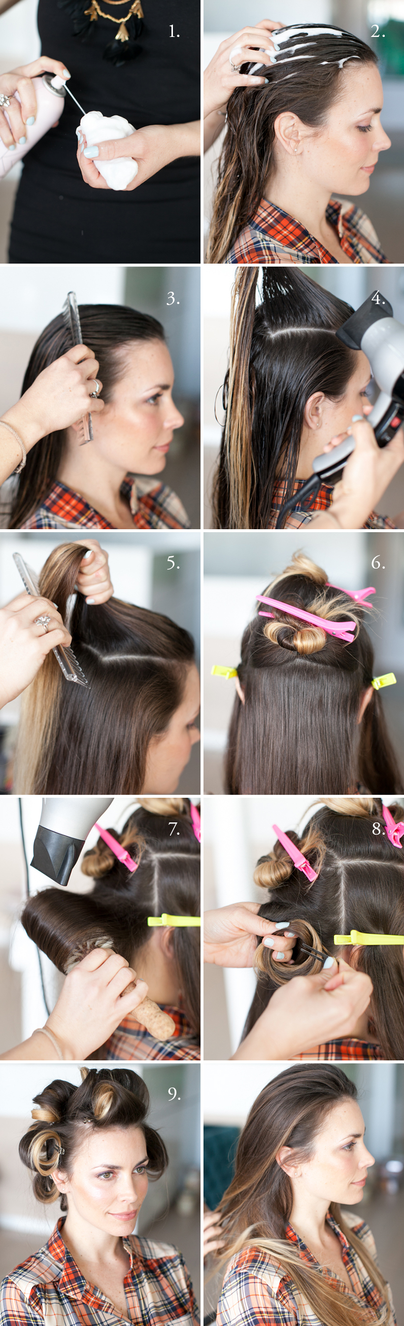 DIY Blowout Tutorial   Camille Styles