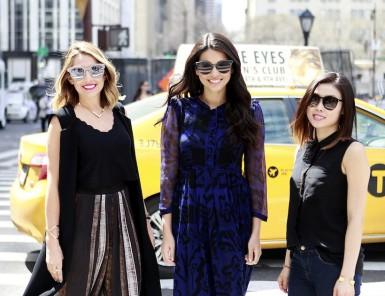lindsay karen alex estee lauder team | camille styles office style
