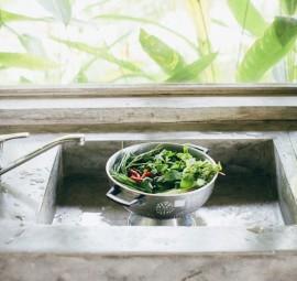 washing greens