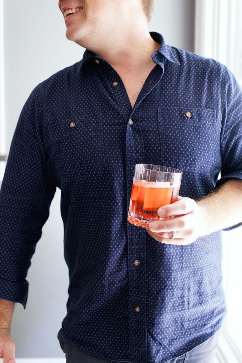Classic Negroni - Camille Styles