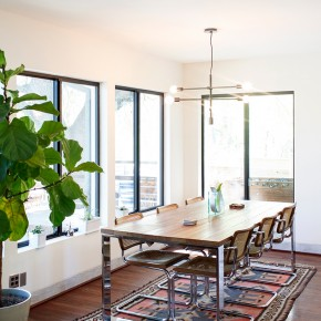 Mod Dining Room | Camille Styles