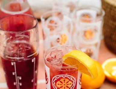 Negroni Fizz Cocktail