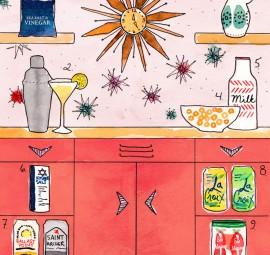 Mrs. Lilien's kitchen