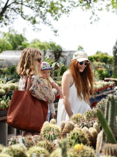 besties Duffy & Christy shop at East Austin Succulents