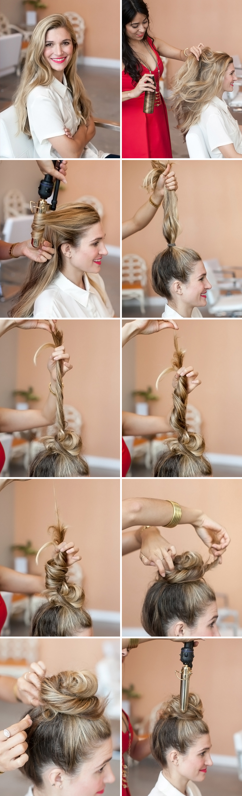 The Perfectly Messy Top Knot Camille Styles