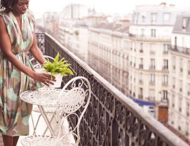 gorgeous terrace in paris