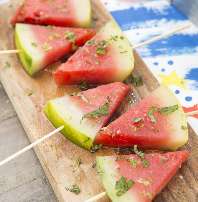 tequila infused watermelon pops
