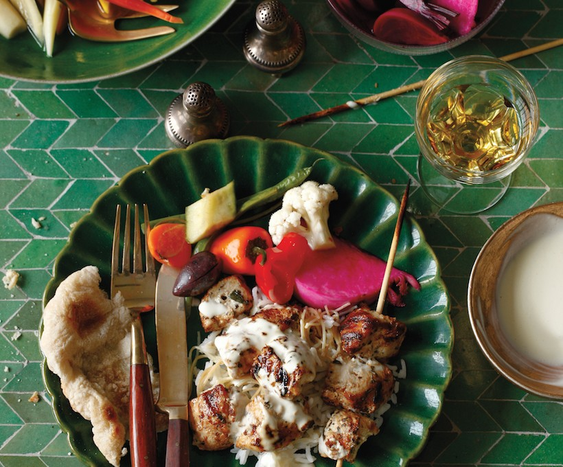 Recipes for a Middle Eastern Dinner Party - Camille Styles