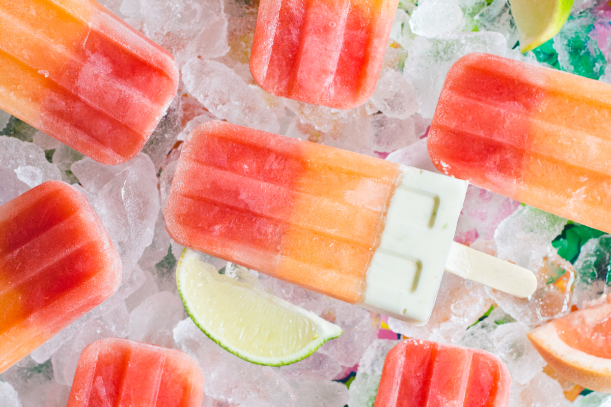 Melon and Citrus Popsicles