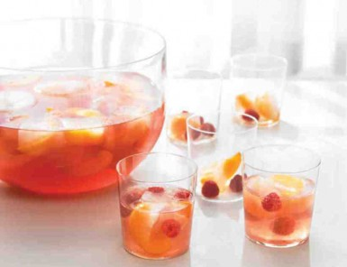 Rose Punch // 10 best summer punch recipes