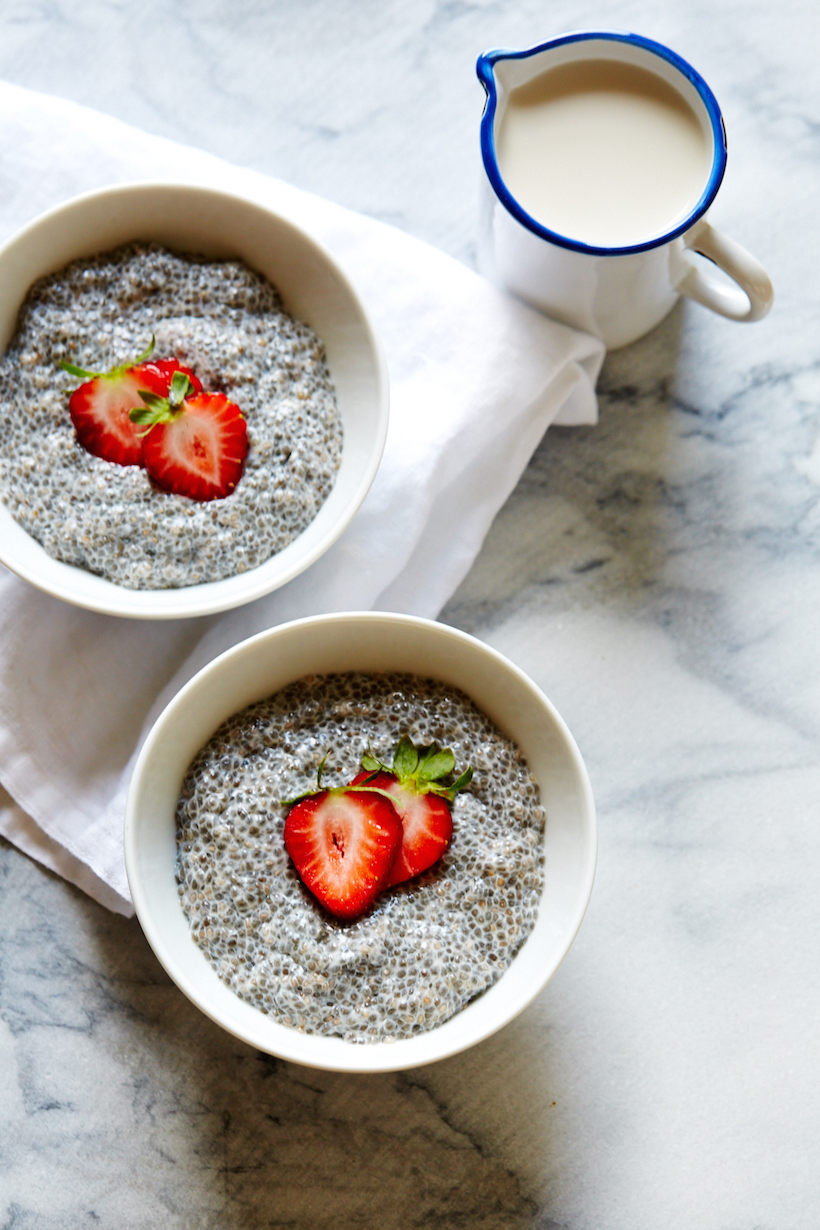 Vanilla Chia Pudding with Chestnut Honey & Berries | Camille Styles ...