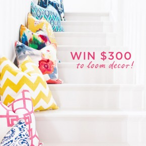 Loom Giveaway | Camille Styles
