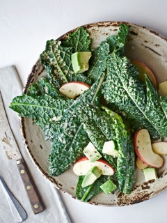 avocado kale caesar salad