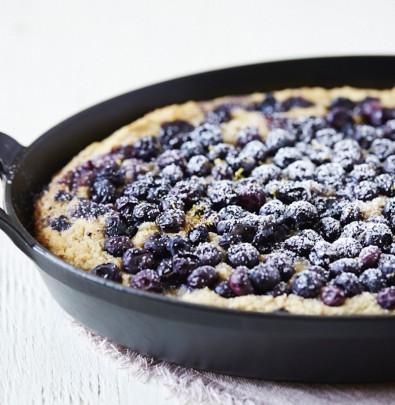 Blueberry & Ricotta Skillet Cake