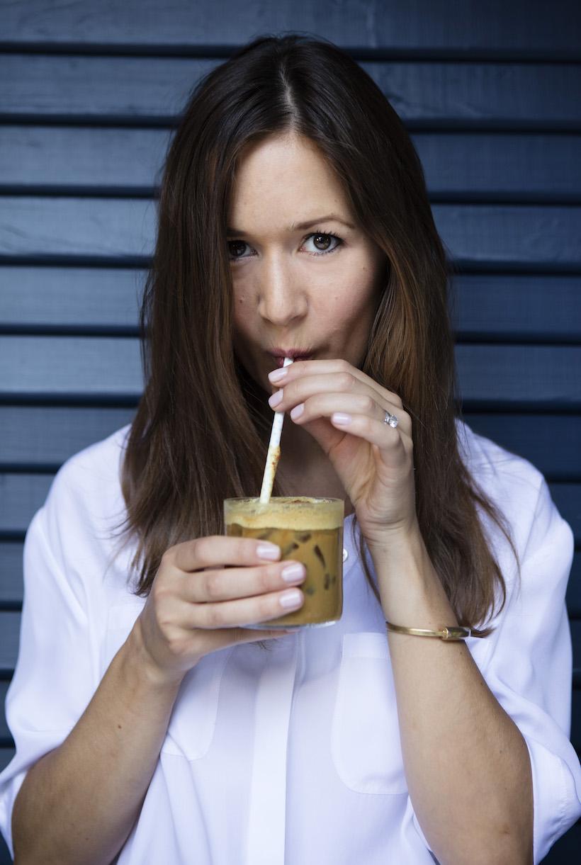 Homemade Golden Milk // Iced Coffee // Golden Eye Recipe
