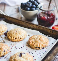 Plum-Blueberry Hand Pie Recipe