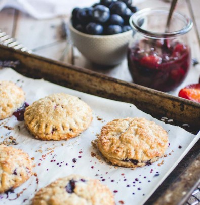 Plum-Blueberry Hand Pie Recipe