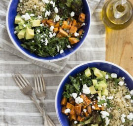 Sweet Potato Quinoa Bowl recipe