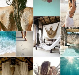 Beach Inspiration Board | Camille Styles
