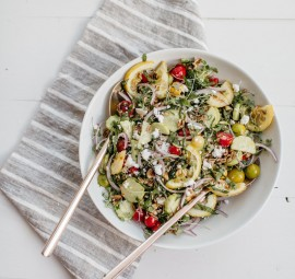 Farro, Tomato, & Herb Salad