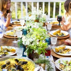 End of Summer Dinner Party Al Fresco