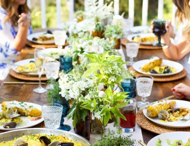 End of Summer Dinner Party Al Fresco