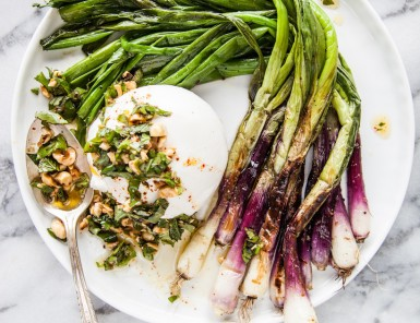 Asparagus and Burrata // Healthy Recipes