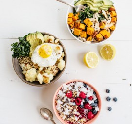 a power bowl for breakfast, lunch and dinner