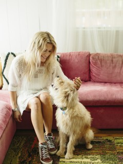 jen coleman and her dog ralph