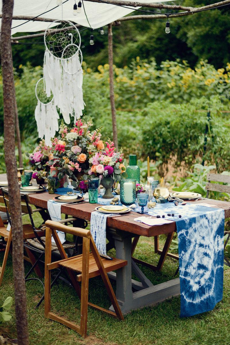 Bohemian Garden Dinner Party