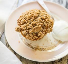 Rye Apple Muffins